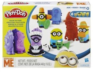 Minion playdoh set