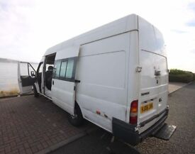 Ford tranist, 10 months MOT, 70,000 miles, 9 seater