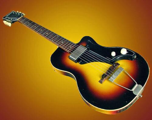 1958 National Model 1123 Bolero Vintage in Sunburst Electric Guitar USA