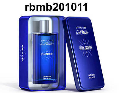 Used, Davidoff Cool Water Ocean Extreme Limited Edition 6.7oz EDT Spray NIB For Men for sale  Shipping to India