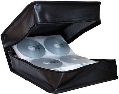 MediaRange Mappe für 500 CD / DVD / BD Tasche Wallet Box schwarz