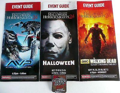 Halloween Horror Nights Annual Pass (ANNUAL PASS HOLDER PIN 2014 UNIVERSAL HALLOWEEN HORROR NIGHT 3 EVENT)