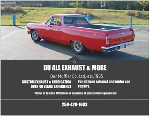 DU ALL EXHAUST AND MORE! TOP QUALITY - LOW PRICES!