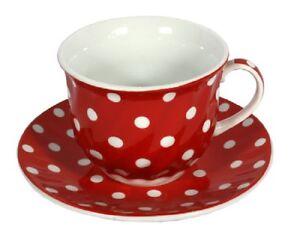 Porzellan Kaffee- Tasse mit Untertasse 200ml. Tee- Kaffeebecher