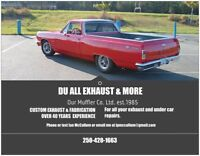 DU ALL EXHAUST & MORE. TOP QUALITY, LOW PRICES