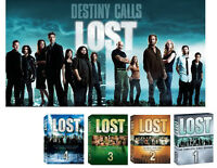 LOST on DVD 1, 2, 3, 4