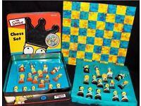 Simpsons Chess Set (in metal tin)