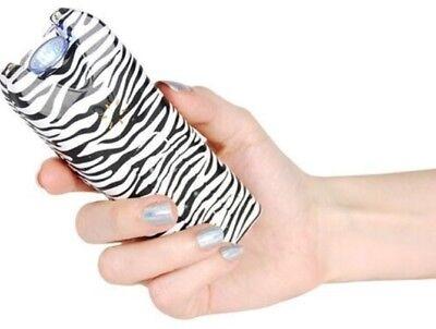 Powerful Alarm Self Defense Police Women Safety Rechargeable Stun Gun Taser Case
