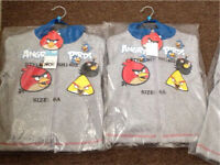 Boys angry birds tracksuits brand new age 6&8