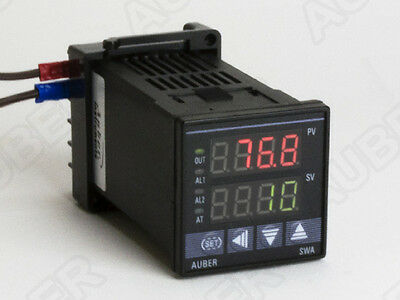 1/16 DIN PID Temperature Controller w/ Timer( Relay Contactor)