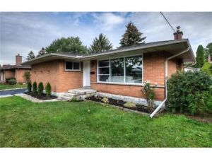 Fully Renovated Bungalow in Rosemount area of Kitchener
