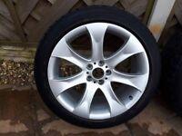 "Alloy Wheels 20"" taken off BMW X5"