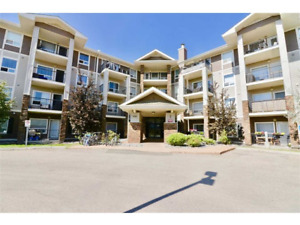 Huge 1 bedroom condo, top floor, heated underground parking