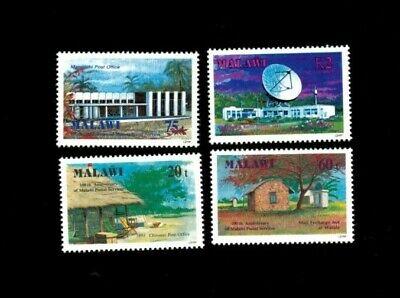VINTAGE CLASSICS - Malawi - Postal Service - Set of 4 Stamps - MNH