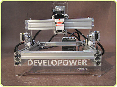 Diy Laser Engraving Machine Engraver Cnc Router 200mw Laser Cutter 1720cm Us