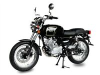 AJS TEMPEST 125CC CAFÉ RACER, NEW, FINANCE AVAILABLE, ONE YEAR WARRANTY, LEARNER LEGAL