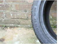 225 45 17 W FR continental tyre BRAND NEW