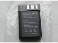 NEW BATTERY FOR NIKON EN-EL9 ultra-compact and lightweight lithium-Ion rechargeable