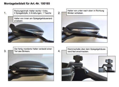 Emuk Spiegels Volkswagen : Emuk wohnwagenspiegel spezialspiegel anhängerspiegel vw golf vii