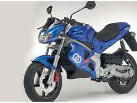 I want any 50cc 60mph+ motorbike ( gilera dna 50 aprilia rs50 derbi gpr 50 yamasaki ym50 50cc 70cc )