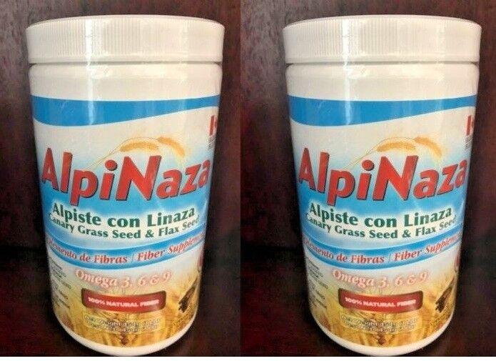 LECHE DE ALPISTE POLVO 2 CANARY SEED MILK POWDER DIETARY SUPPLEMENT LINAZA FLAX