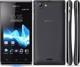 **** SONY XPERIA J UNLOCKED TO ALL NETWORKS ****
