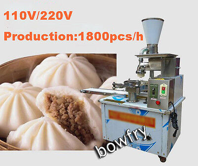 Automatic Electric Steamed Stuffed Bun Machine Production 1800PCS/H 110V/220V