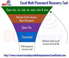 MS Excel password remover to recover password from Excel file