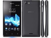 Sony Xpeira J unlocked any network ***mint condition***cheap smart phone***