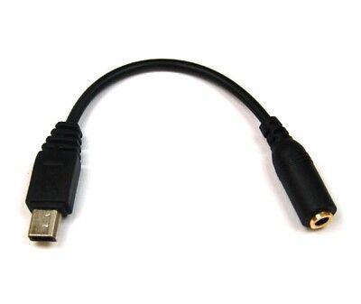 Audio Adapter kompatibel zu HTC - Mini-USB --> 3,5mm stereo mit Kabel - 8001509 Htc Audio