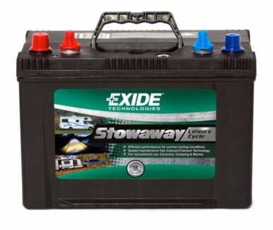 EXIDE H/DUTY DEEP CYCLE 100AH BATTERY CHEAPEST IN PERTH