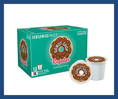The Original Donut Shop 72 K-Cups Regular Extra Bold for Keurig Brewers