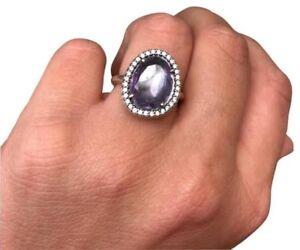 253704a73 Amethyst Stone Pandora Ring   Women's Jewellery   Gumtree ...
