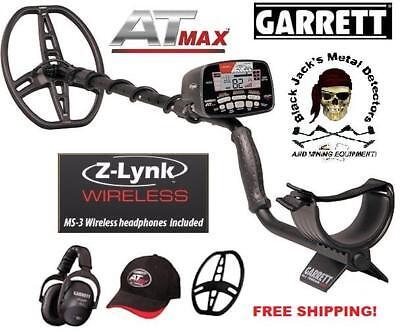 Garrett AT max Metal Detector. Includes Z-Link Wireless Tech. Garrett Dealer
