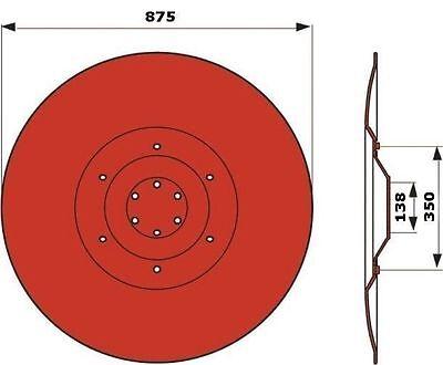 Kuhn GT185 Gleitteller Deutz Fahr  KM24 Pöttinger CAT185
