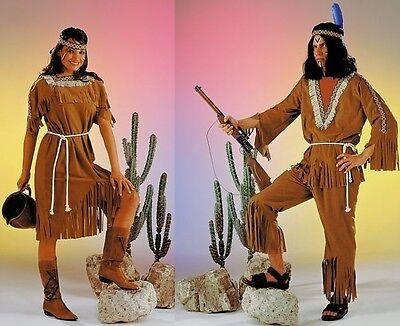 Indianer Indianerin Kostüm Squaw Indianerkostüm Fasching Karneval Kleid - West Indian Karneval Kostüm