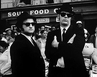 1980 BLUES BROTHERS Dan Aykroyd John Belushi Glossy 8x10 Photo Print Poster