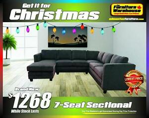 BRAND NEW 7-SEAT SECTIONAL