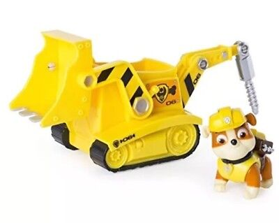 Paw Patrol Rubbles Diggn Bulldozer Works With Patroller Other Tv Movie New