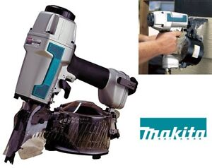 "NEW MAKITA 1-1/4"" TO 2-1/2"" COIL SIDING NAILER"