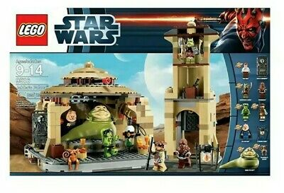 Factory Sealed Discontinued Lego Star Wars Jabba's Palace (9516) mint in box