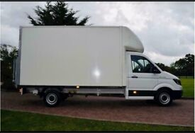 Urgent man with a van house removal office commercial moving sofa furniture delivery man and van