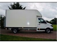 Man with van house removal office commercial moving sofa furniture delivery man and van local urgent