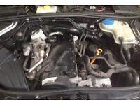 Low Mileage Audi A4 B7 1.9tdi BKE Engine 1896cc Mint Running Engine 115bhp 104k