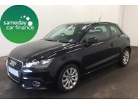 £170.26 PER MONTH BLACK 60 REG AUDI A1 1.6 TDI SPORT HATCHBACK 3 DOOR MANUAL
