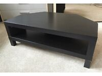 Ikea lack TV stand in black