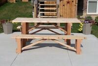 Cedar Harvest Table