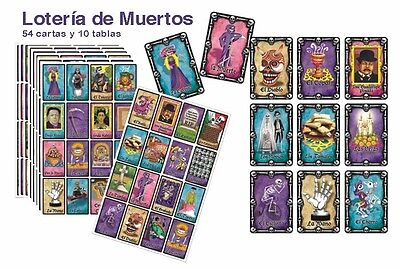 Day Of The Dead Items ( 3 ITEMS!   LOTERIA AND MEMORAMA GAMES !    DAY OF THE DEAD THEME)