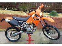 KTM 400 EXC 51 REG ENDURO MX . SWAP PX , 450 525 520 crf yzf kxf