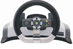 Microsoft wireless steering wheel and pedals